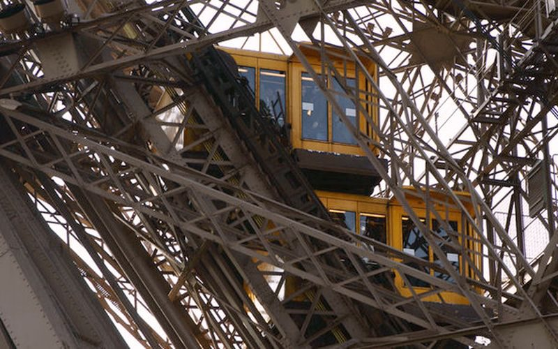 Elevators of the Eiffel Tower